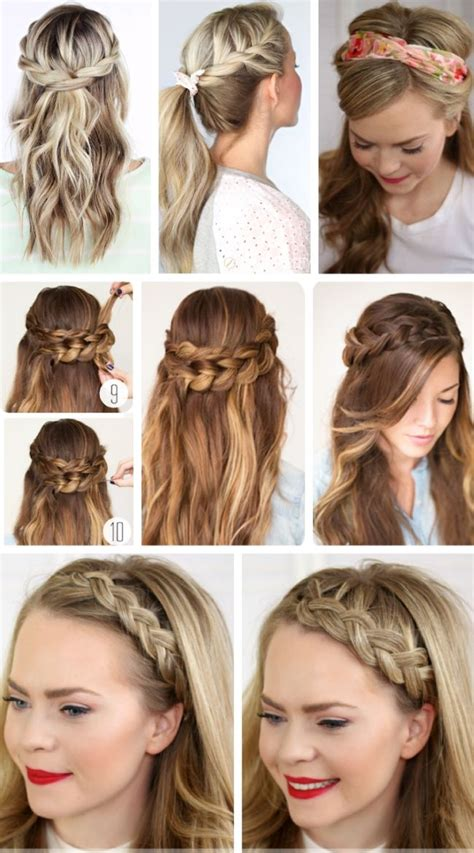 party hairstyles  long hair  step  step easy