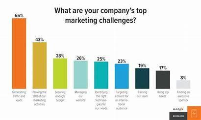 Statistics Lead Nurturing Charts Marketing Challenges