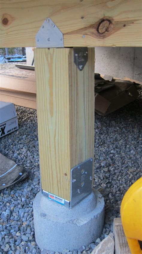 How to Install a Deck Post - Ask the Builder