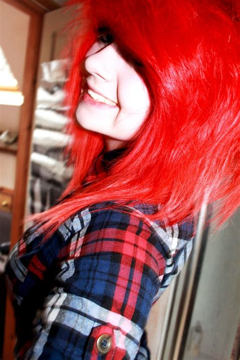 25 Best Ideas About Bright Red Hair Dye On Pinterest