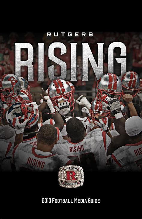 ISSUU - 2013 Rutgers Football Media Guide by Rutgers Athletics