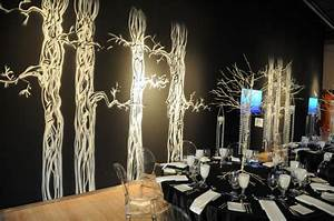 The 2008 Design Exchange gala achieved a haunted forest