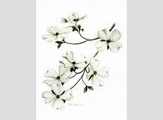 Dogwood Flower Watercolor Tattoo Lireepub