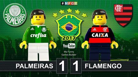 Palmeiras 1 x 1 Flamengo • Brasileirão • CBF Brazil Serie ...