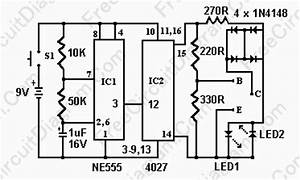 simple transistor tester using 555 ic circuit diagram world With 555 tester circuit