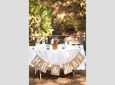 Rustic Country Wedding Sweetheart Table Decoration Hacks