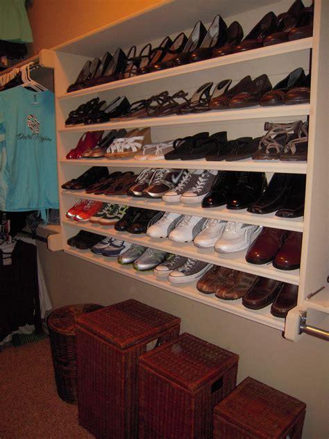 how to build shoe shelves plans diy free shoe