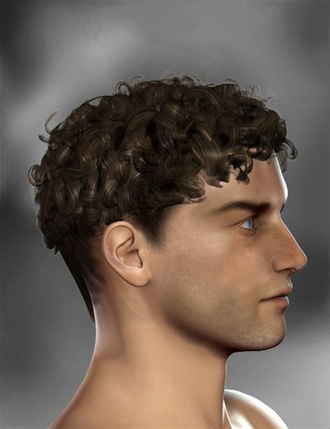 Hairstyle Software For Boys by Uptown Boy Hairstyle 3d Models For Daz Studio And Poser