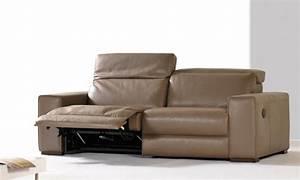 comment acheter un canape cuir taupe pas cher canape show With comment changer la couleur d un canapé en cuir