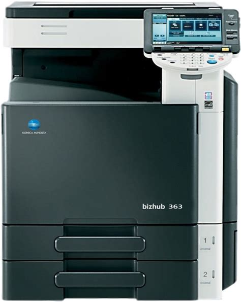Konica minolta bizhub 363 driver. Konica Minolta bizhub 363 Monochrome Multifunction Printer ...