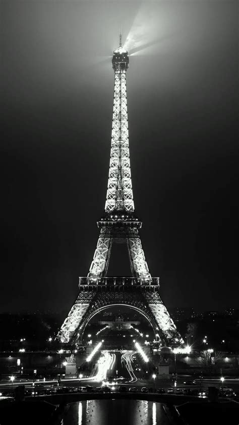 Black Wallpaper Iphone Eiffel Tower by Eiffel Tower Hd Wallpaper Black And White 37