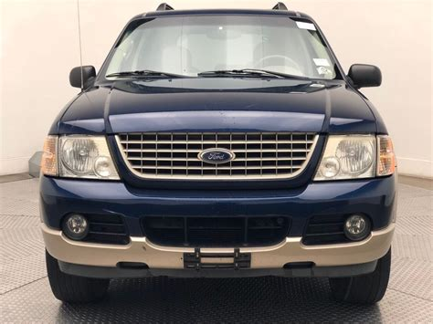 """* if you desire traditional suv features. Pre-Owned 2005 Ford Explorer 4dr 114"""" WB 4.6L Eddie Bauer 4WD SUV in Chantilly #7200941B ..."""
