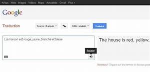 Traduction Francais Latin Gratuit Google : ecouter avec google traduction audio video blog fle ~ Medecine-chirurgie-esthetiques.com Avis de Voitures
