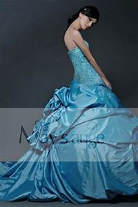 Robe Demoiselle D Honneur Bleu : robe de demoiselle d 39 honneur r ve bleu ref p031 robes ~ Melissatoandfro.com Idées de Décoration