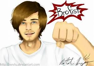 Brofist! PewDiePie by Fireaux on DeviantArt