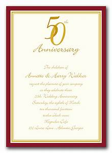 8 best images of free printable anniversary invitations for Free printable invitations for 50th wedding anniversary
