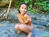 Young tailand outdoor girl