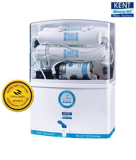 Kent 8 Ltr Pride RO UF with TDS controller Water Purifier