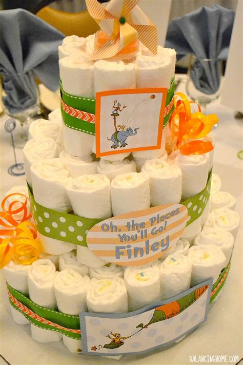 Oh, The Places You Will Go Baby Shower & Pinwheel Favor Boxes   Balancing Home With Megan Bray