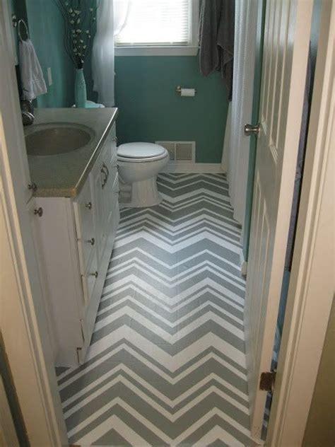 painted chevron  vinyl flooring painted vinyl floors