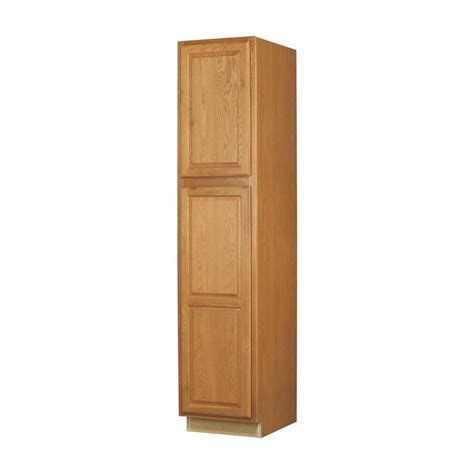 pantry storage cabinets with doors shop now portland 18 in w x 84 in h x 24 in d