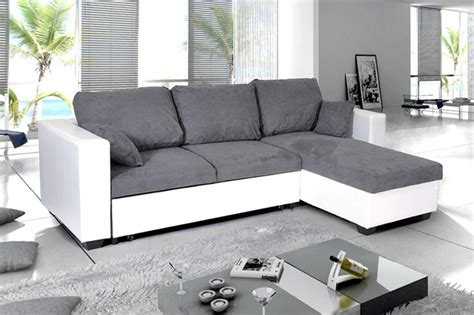 canapé d angle convertible blanc photos canapé d 39 angle convertible noir et blanc
