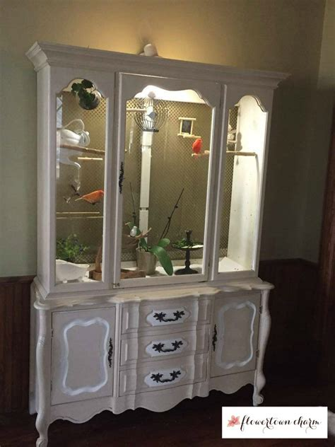 build your own china cabinet bird cage bird mansion china hutch bird cage canaries