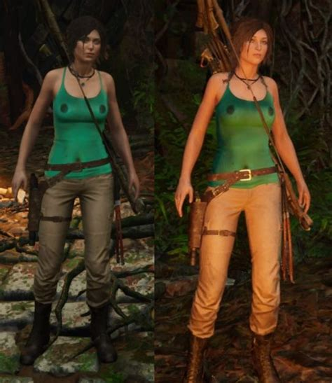 Shadow Of The Tomb Raider Nude Mod Pack