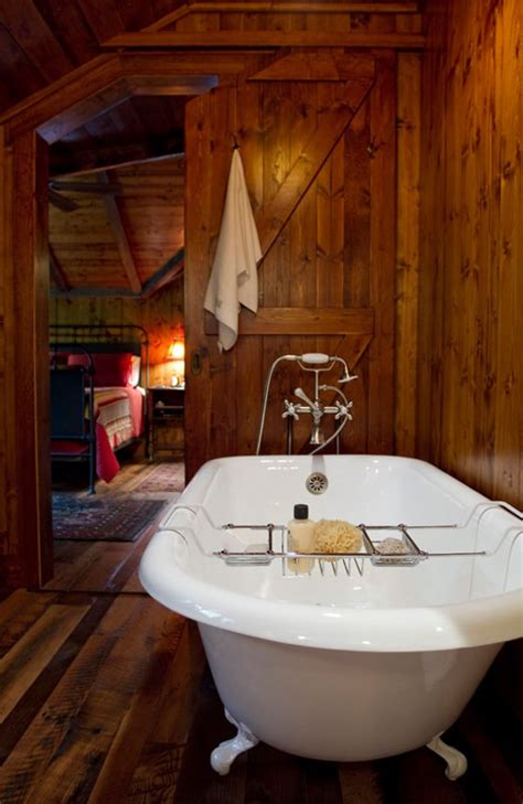 cottages in bath with tub 51 insanely beautiful rustic barn bathrooms
