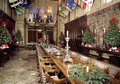 christmas circa   hearst castle sfgate