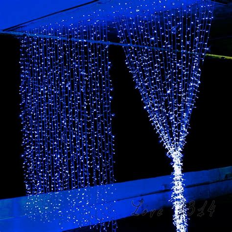 longest last christmas lights 6m 3m 220v 800 led string lights for birthday bar decoration