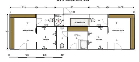 Room Planner App How To Change Dimensions by How To Design A Sports Changing Room Sports Changing