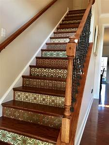 Earth Tone Porcelain Catalina Tile Stair Risers - Latin