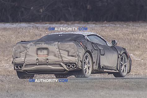 mid engine corvette spy pictures  lighting exhaust