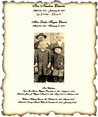Elmore Lunsford History 1887 1934 William Jerry