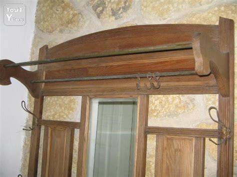 ancien porte manteau en bois salon de provence 13300