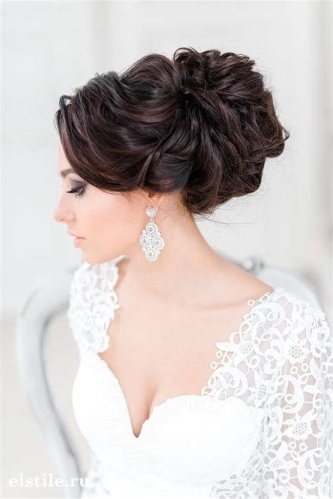 stunning wedding hairstyles   bride modwedding