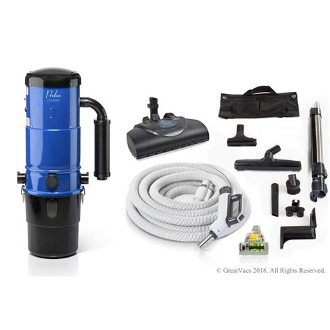 Central Vaccum by Prolux Cv12000 Blue Central Vacuum Power Unit With