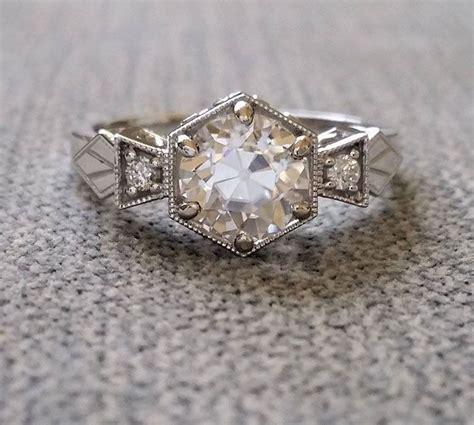 engagement rings wedding rings vintage inspired
