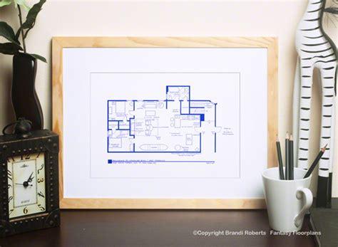 set   friends apartments floorplans  monica