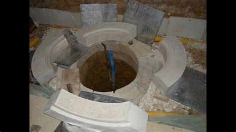 taille et pose d une couvertine de puits