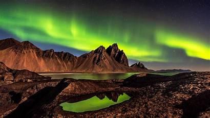 National Polar Lights Park Vatnajokull Backiee Under