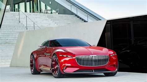 2017 Vision Mercedes Maybach 6 Ksimilar Car Wallpapers