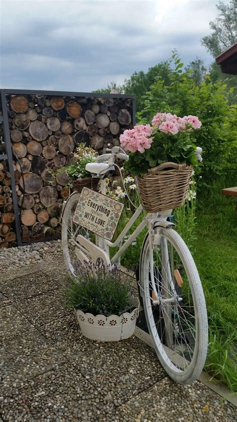 garten fahrrad deko blumen bike planter bicycle