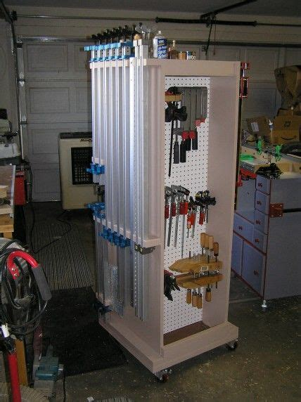 mobile clamp rack readers gallery fine woodworking