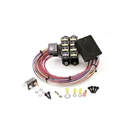 painless wiring 70207 cirkit auxiliary fuse block 7 circuits ebay