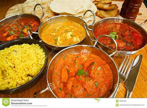 cuisine curry indian cuisine buffet stock image image of range gourmet