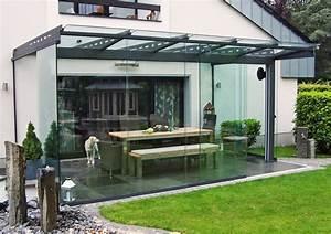 Terrasse Dekorieren Modern : terrassen berdachung als filigranes glasdach ~ Fotosdekora.club Haus und Dekorationen