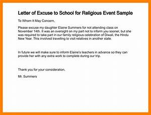 8+ excuse letter for absence in school | fancy-resume
