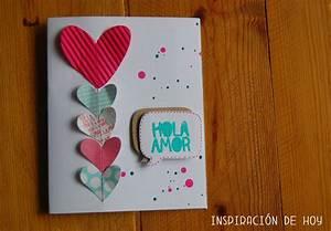 Tarjetas de San Valentín hechas a mano